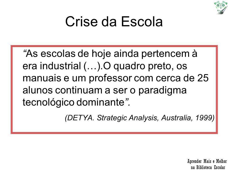 Crise da Escola