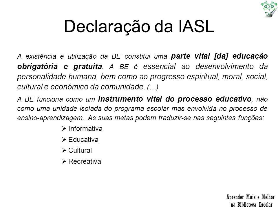 Declaração da IASL