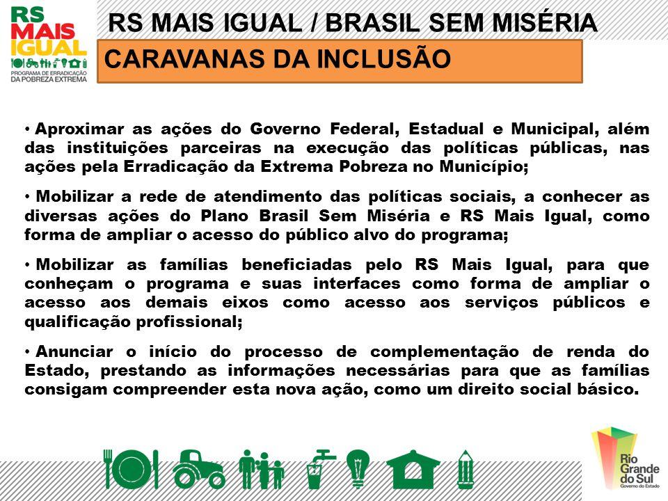RS MAIS IGUAL / BRASIL SEM MISÉRIA CARAVANAS DA INCLUSÃO