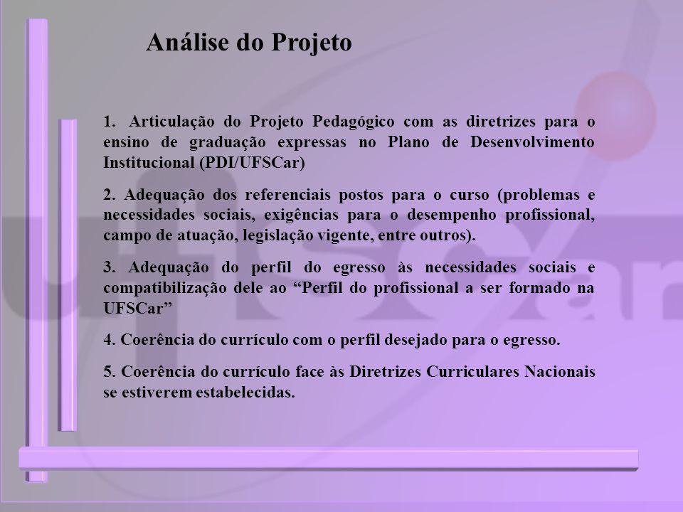 Análise do Projeto