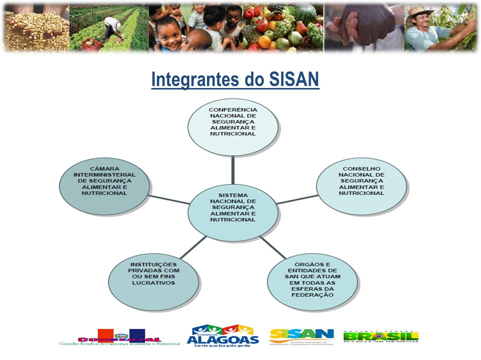 Integrantes do SISAN O