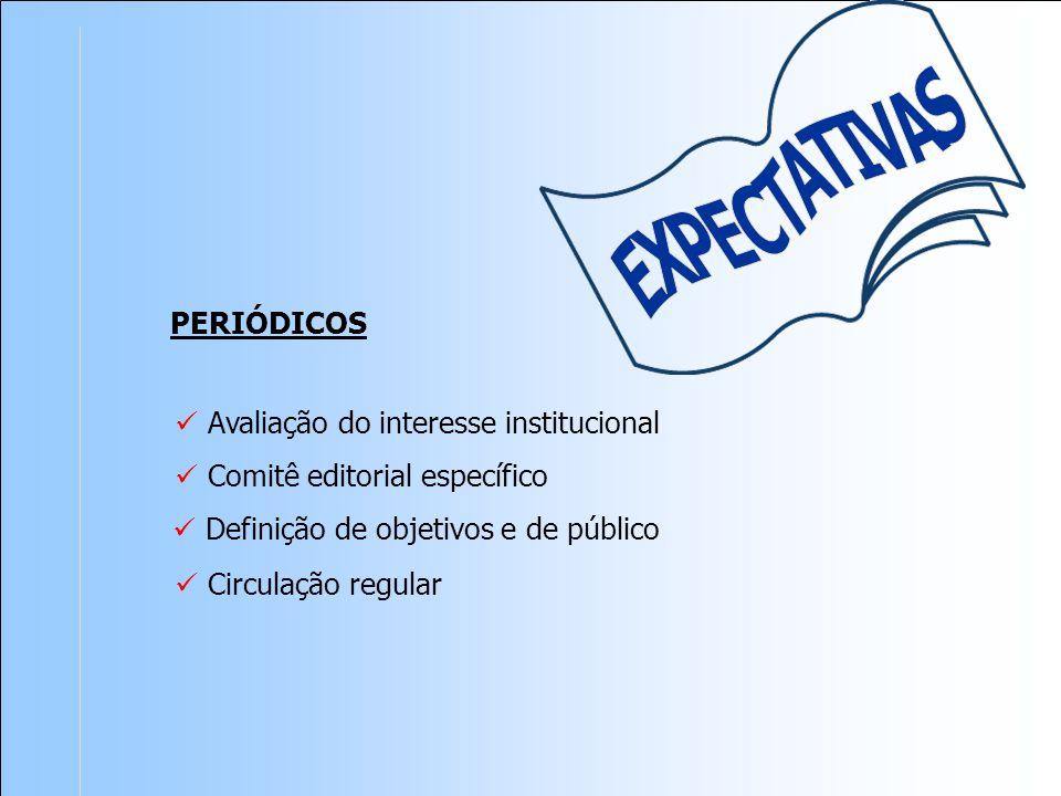 Avaliação do interesse institucional