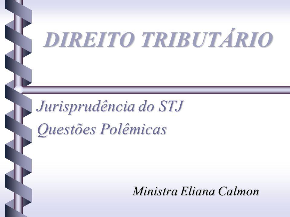 Jurisprudência do STJ Questões Polêmicas Ministra Eliana Calmon