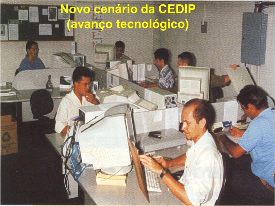 Novo cenário da CEDIP (avanço tecnológico)