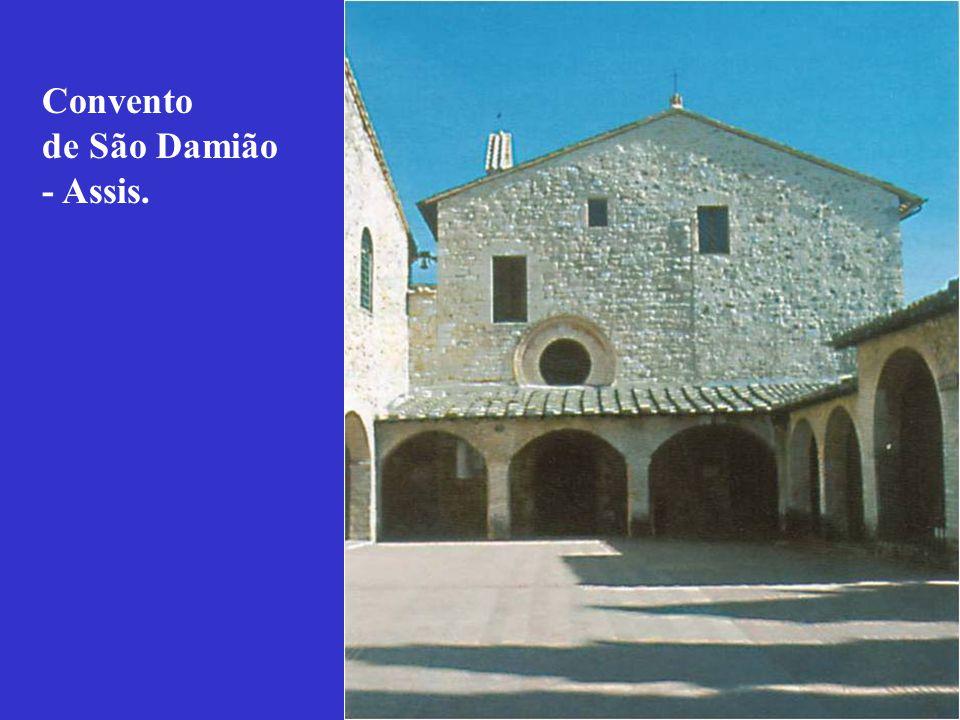 Convento de São Damião - Assis.
