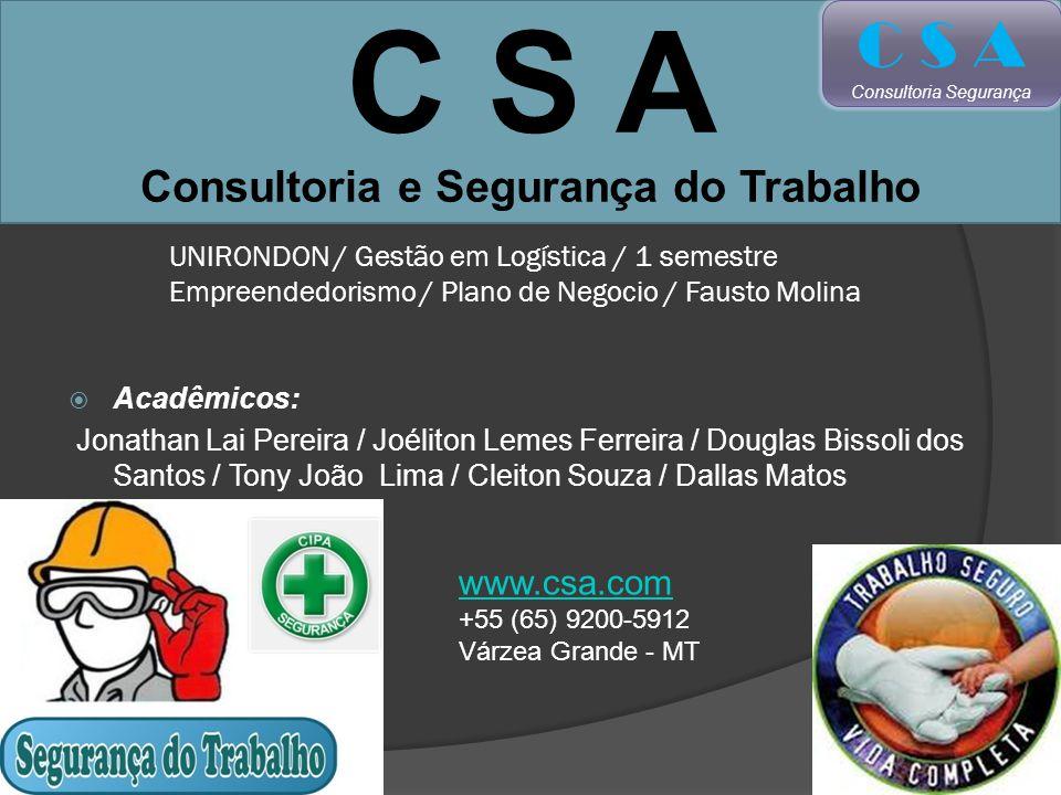 C S A Consultoria e Segurança do Trabalho