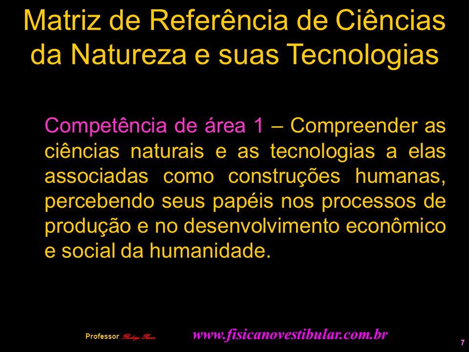 Matriz de Referência de Ciências da Natureza e suas Tecnologias