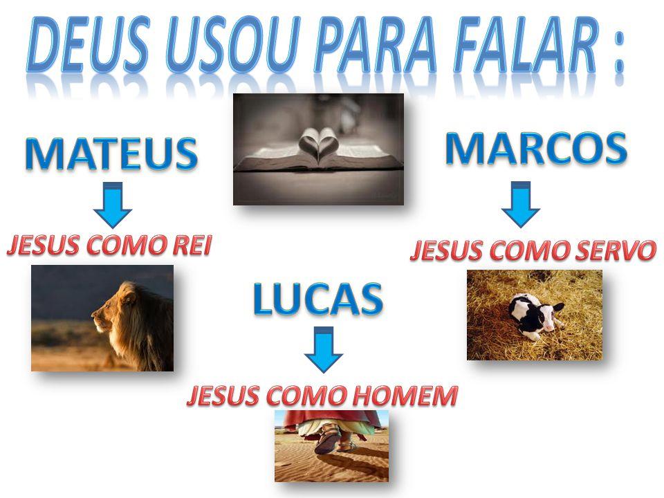 DEUS USOU PARA FALAR : MARCOS MATEUS LUCAS