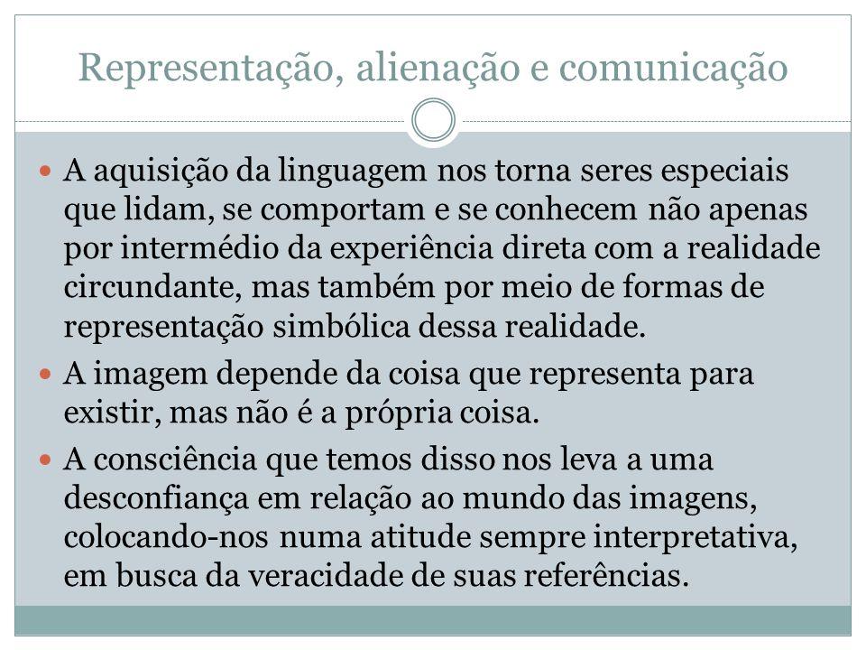 Representação, alienação e comunicação