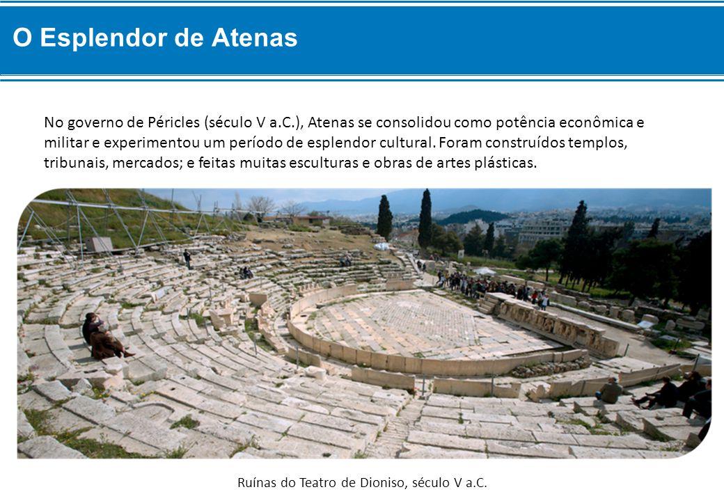 Ruínas do Teatro de Dioniso, século V a.C.