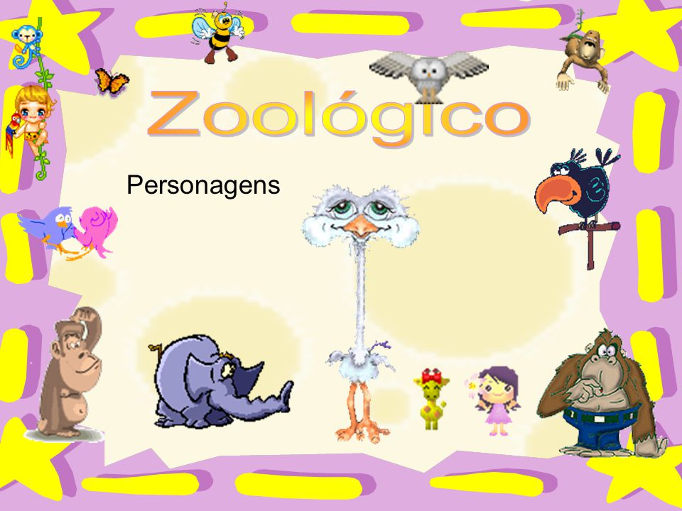 Zoológico Personagens