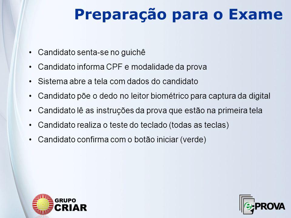 Preparação para o Exame