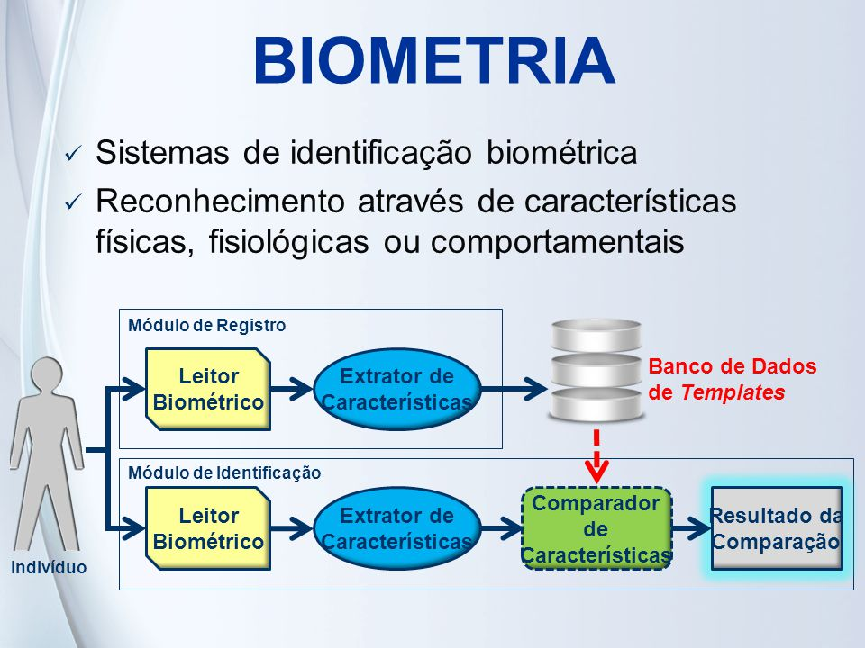 BIOMETRIA Sistemas de identificação biométrica