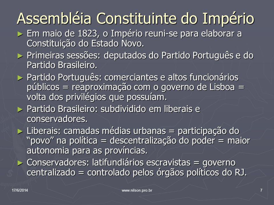 Assembléia Constituinte do Império