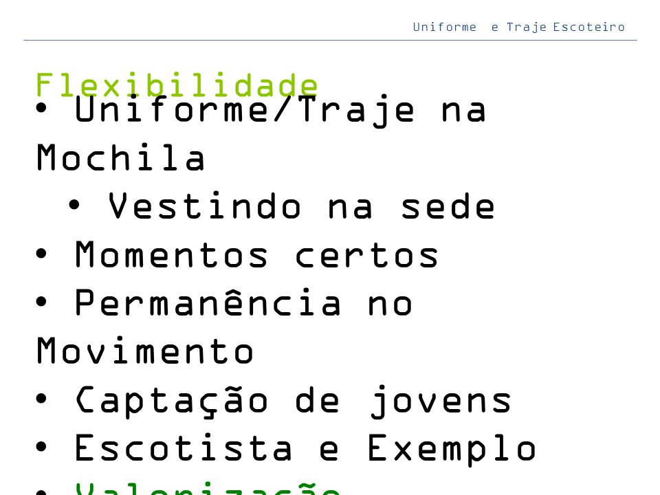 Uniforme/Traje na Mochila Vestindo na sede Momentos certos