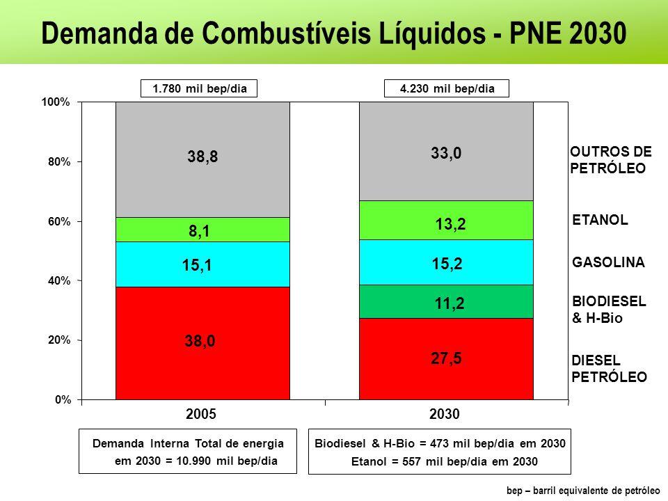 Demanda de Combustíveis Líquidos - PNE 2030
