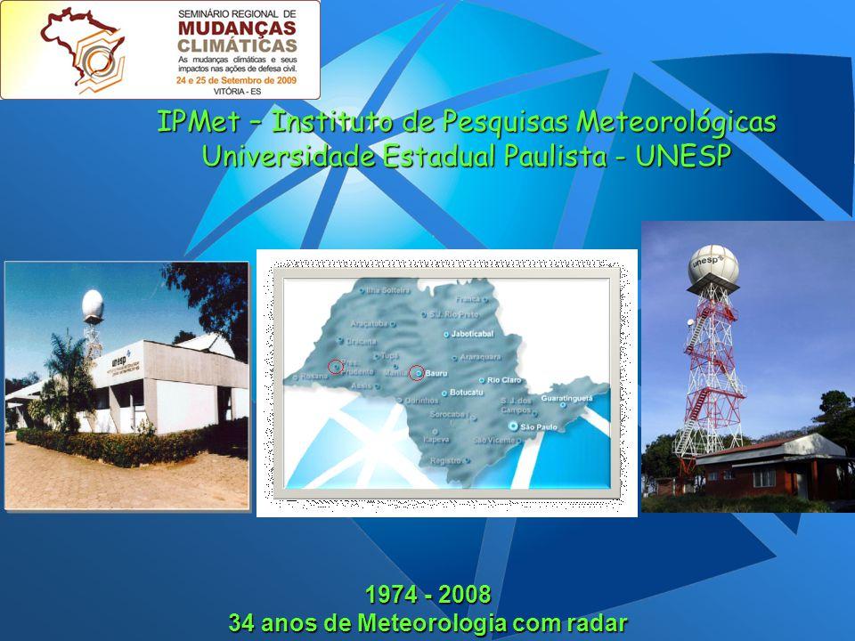 34 anos de Meteorologia com radar