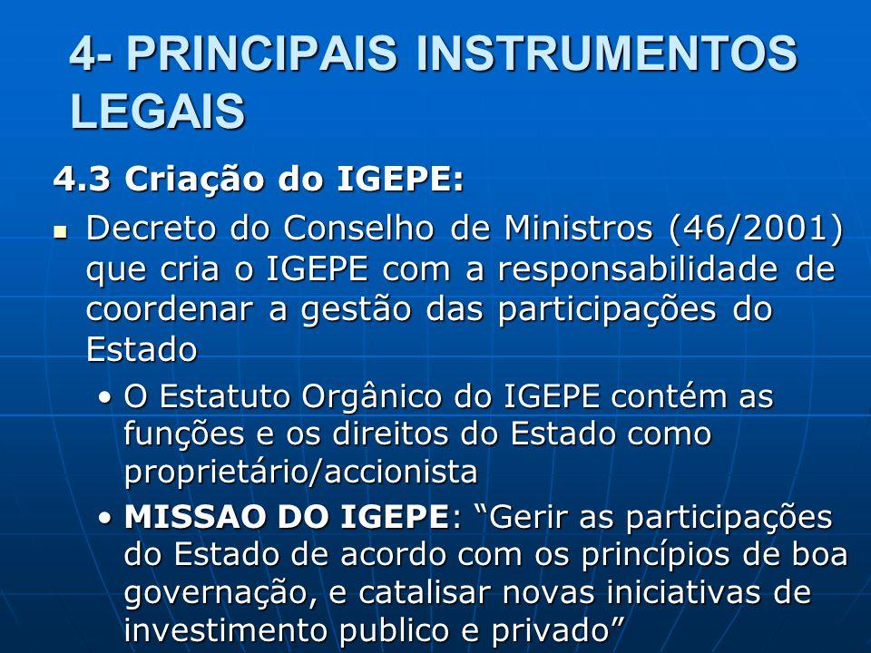 4- PRINCIPAIS INSTRUMENTOS LEGAIS