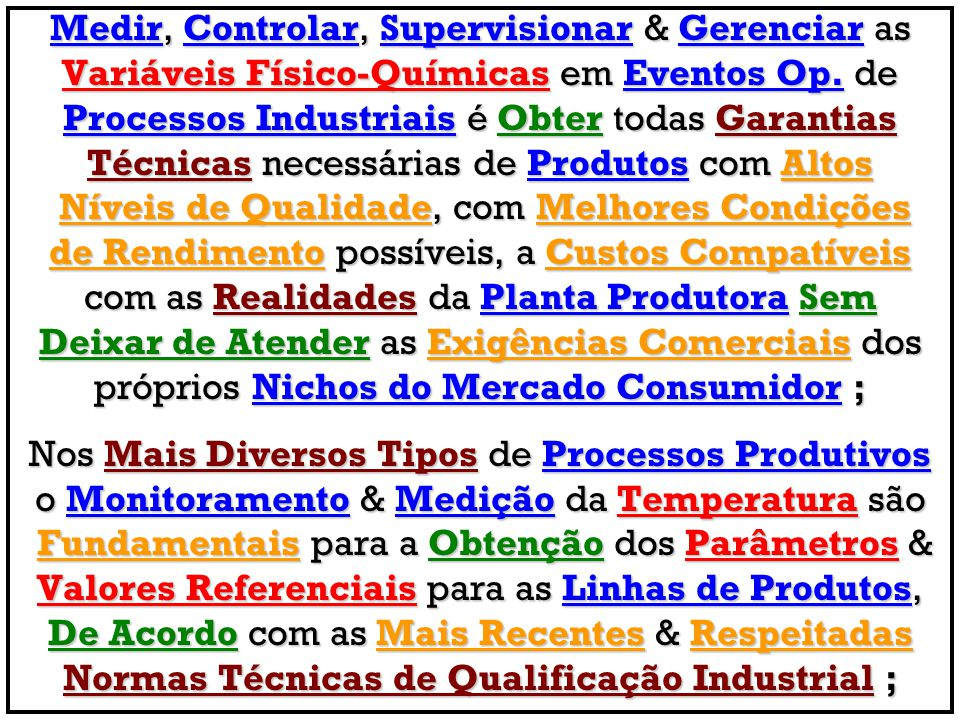 Normas Técnicas de Qualificação Industrial ;