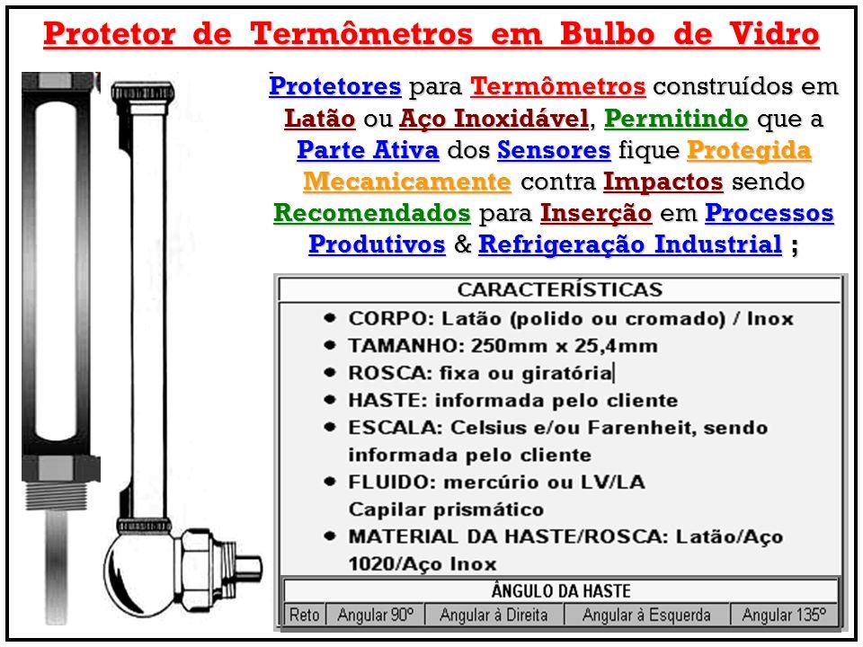 Protetor de Termômetros em Bulbo de Vidro