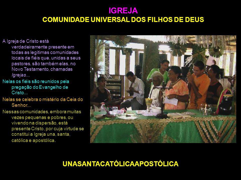 IGREJA COMUNIDADE UNIVERSAL DOS FILHOS DE DEUS