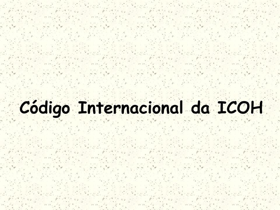 Código Internacional da ICOH
