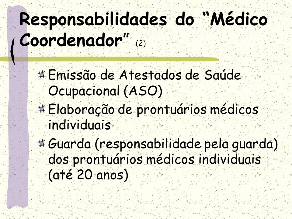 Responsabilidades do Médico Coordenador (2)