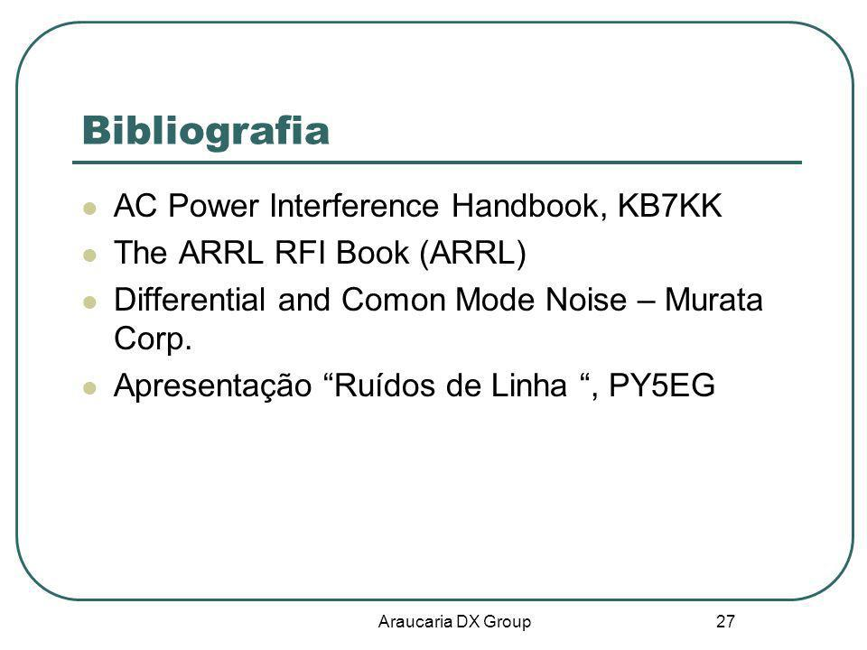 Bibliografia AC Power Interference Handbook, KB7KK
