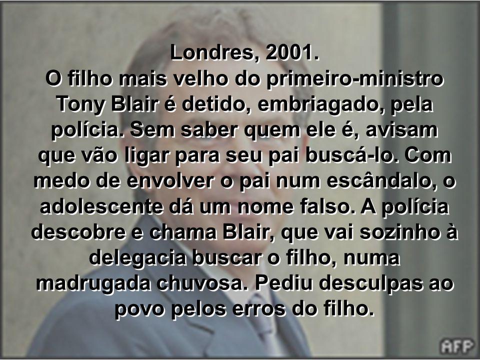 Londres, 2001.