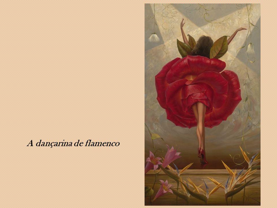 A dançarina de flamenco