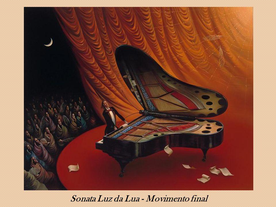 Sonata Luz da Lua - Movimento final