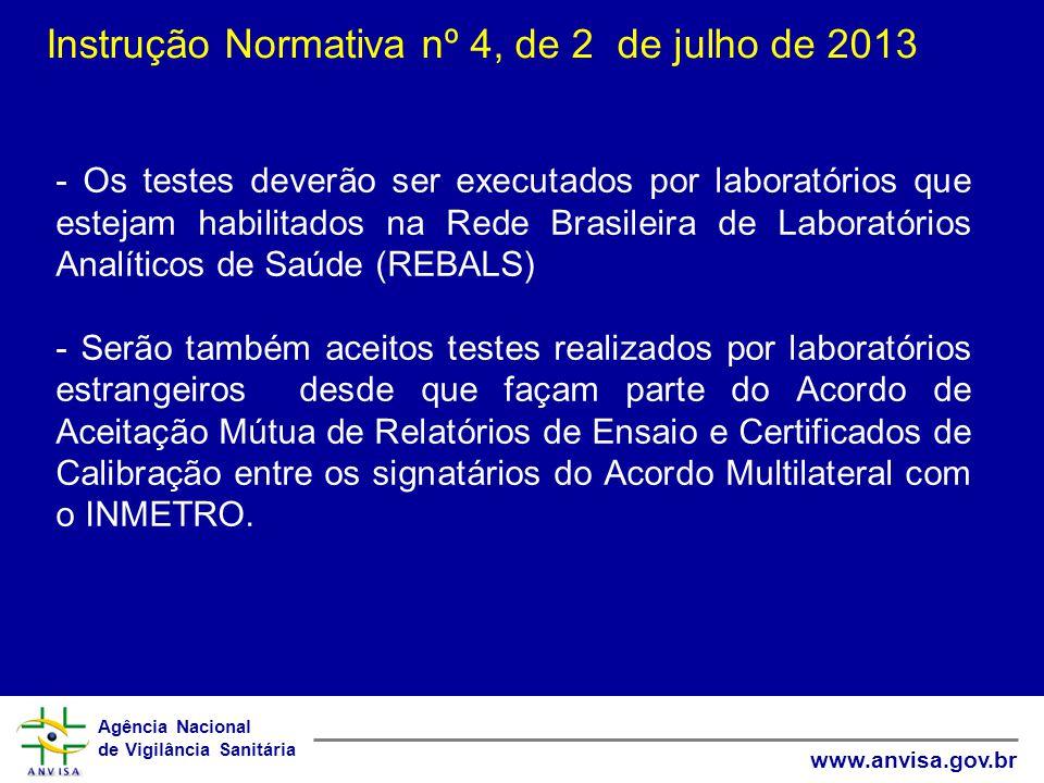 Instrução Normativa nº 4, de 2 de julho de 2013