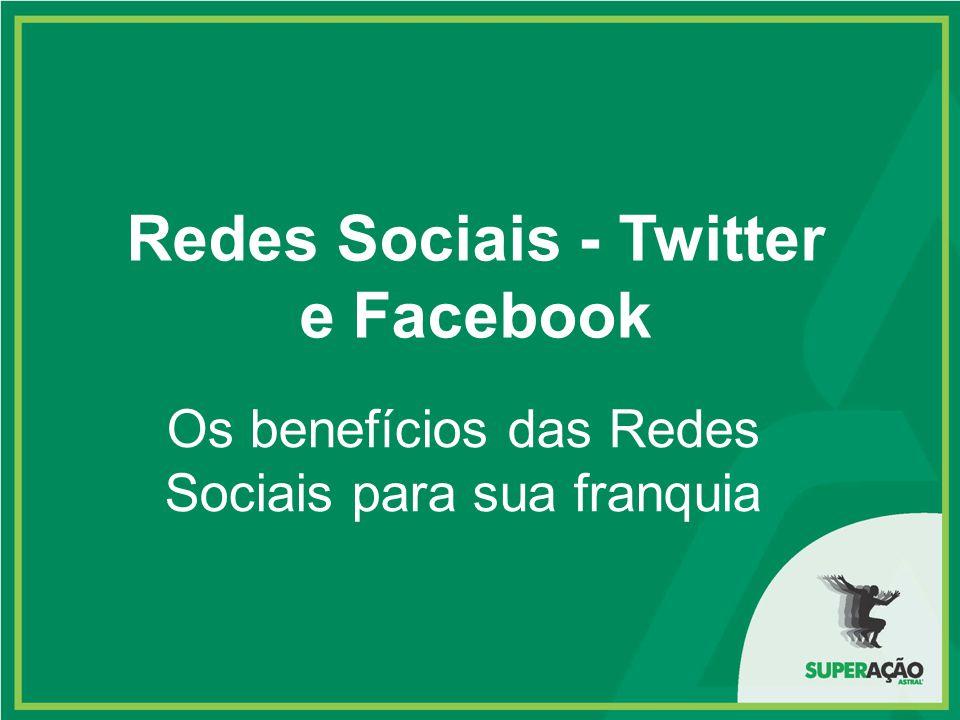 Redes Sociais - Twitter e Facebook