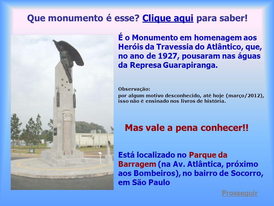 Que monumento é esse Clique aqui para saber!