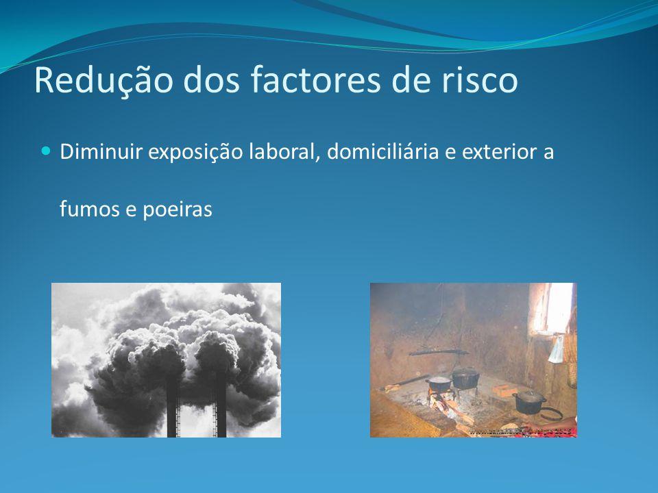 Redução dos factores de risco