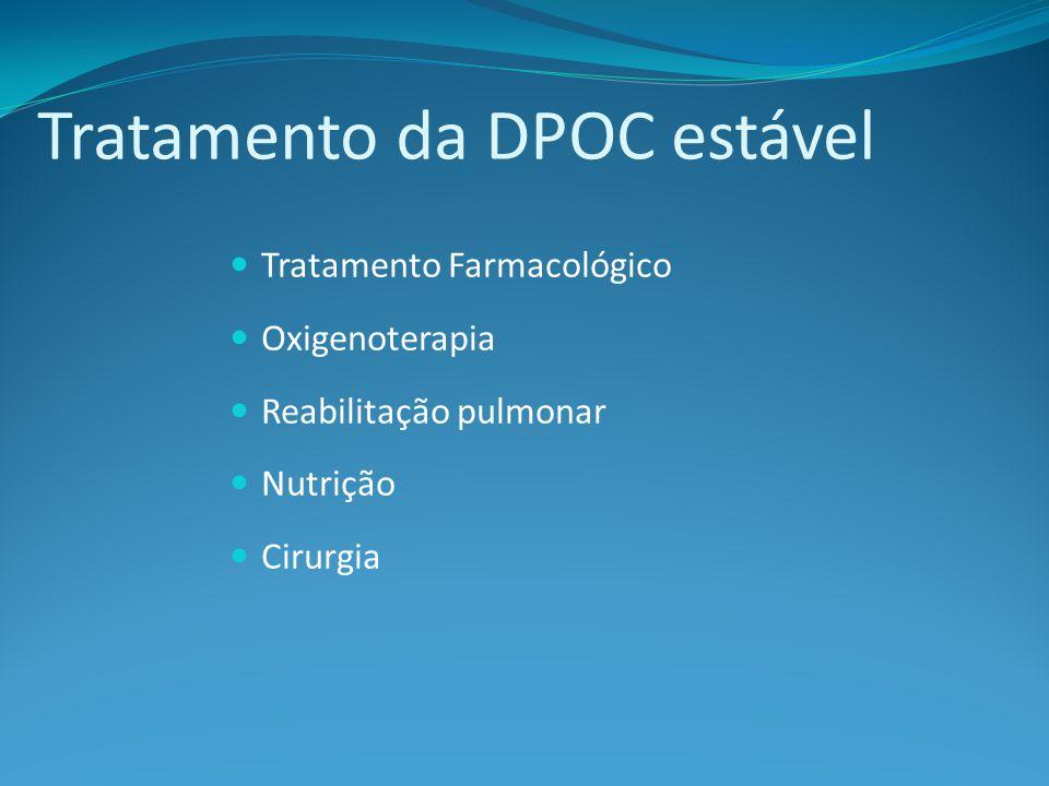 Tratamento da DPOC estável