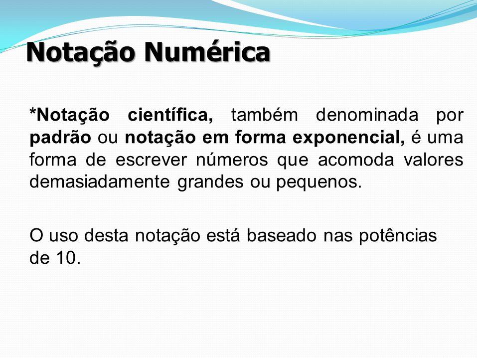 Notação Numérica