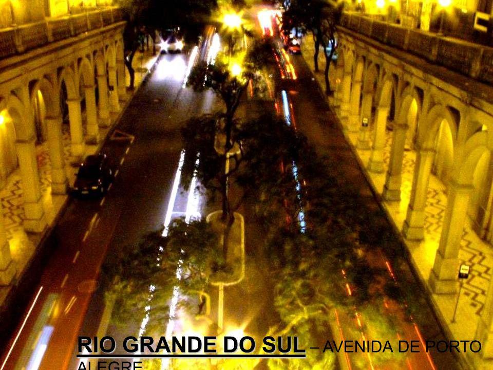 RIO GRANDE DO SUL – AVENIDA DE PORTO ALEGRE