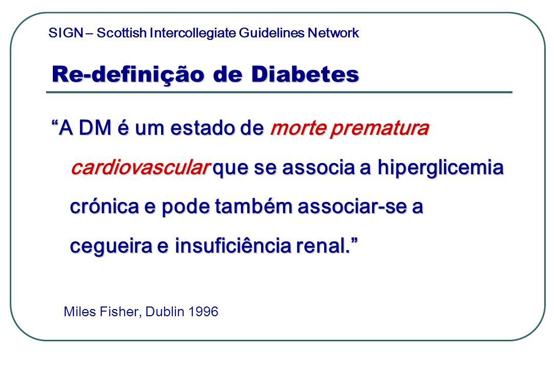 Re-definição de Diabetes