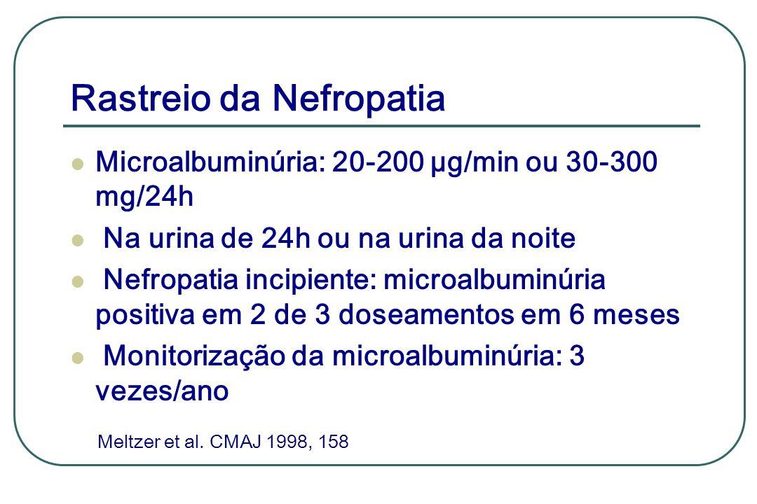 Rastreio da Nefropatia