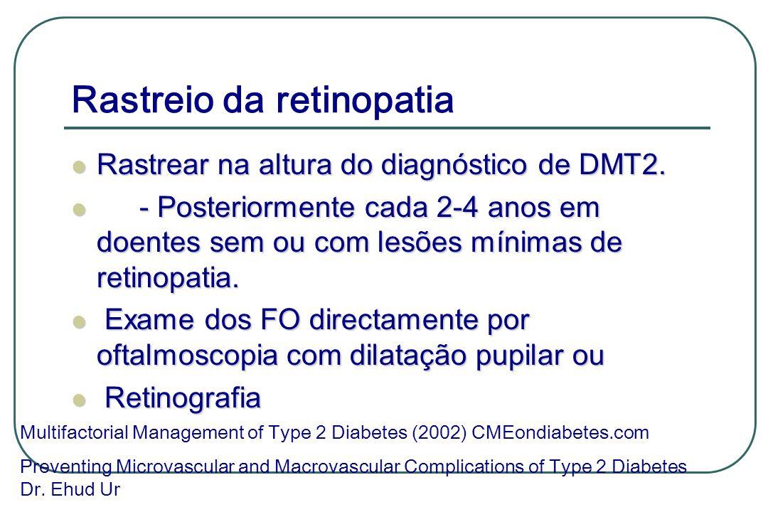 Rastreio da retinopatia