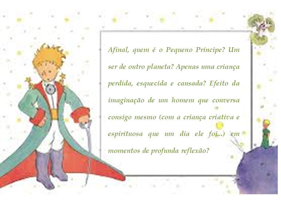 Afinal, quem é o Pequeno Príncipe. Um ser de outro planeta