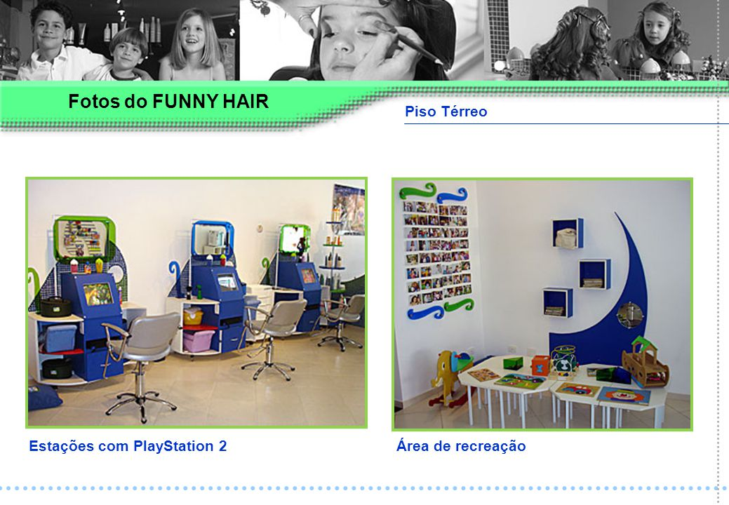 Fotos do FUNNY HAIR Piso Térreo Estações com PlayStation 2