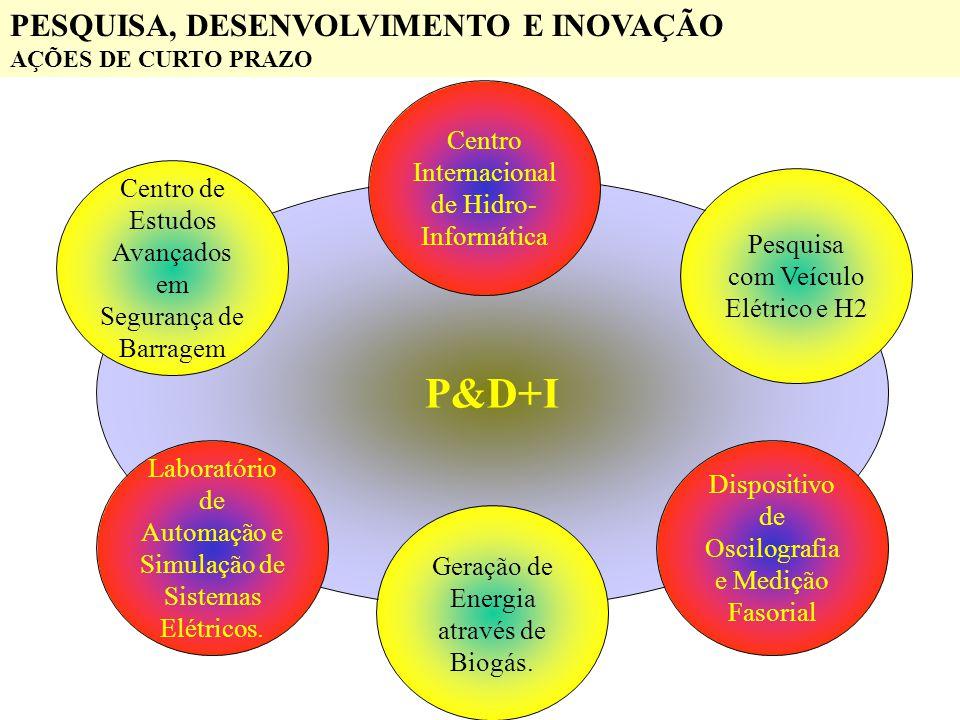 P&D+I PESQUISA, DESENVOLVIMENTO E INOVAÇÃO