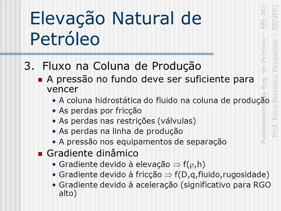 Elevação Natural de Petróleo