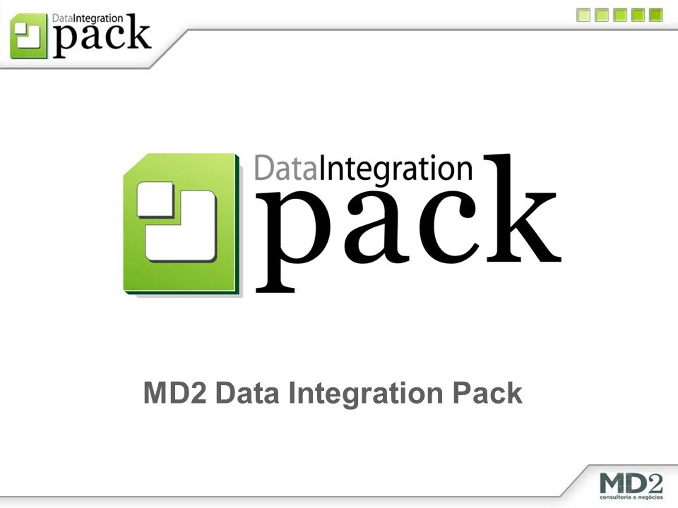 MD2 Data Integration Pack