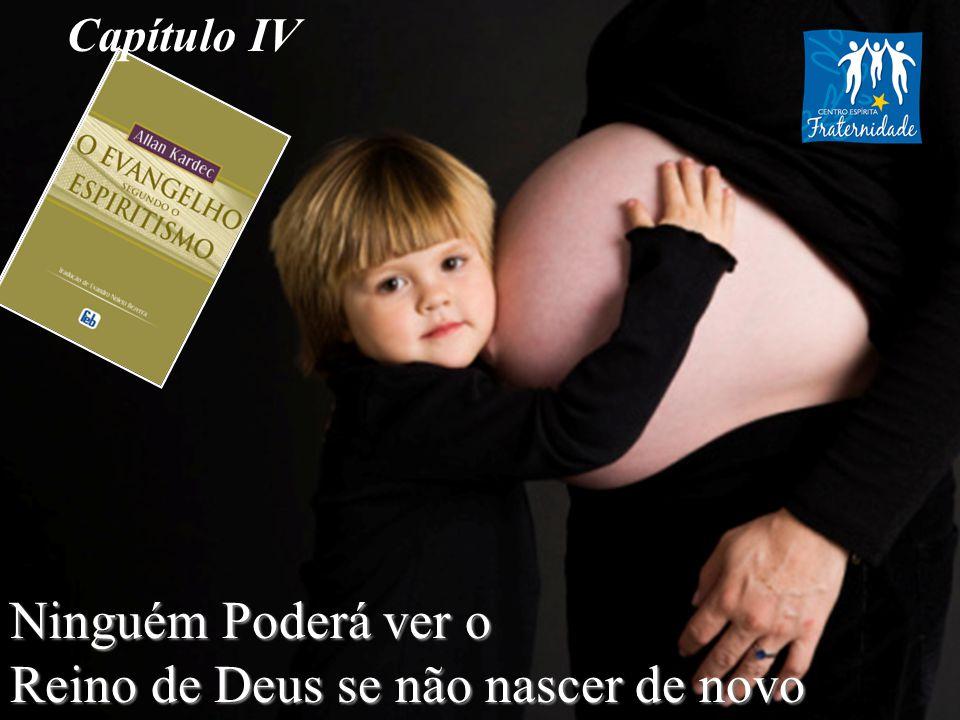 Reino de Deus se não nascer de novo