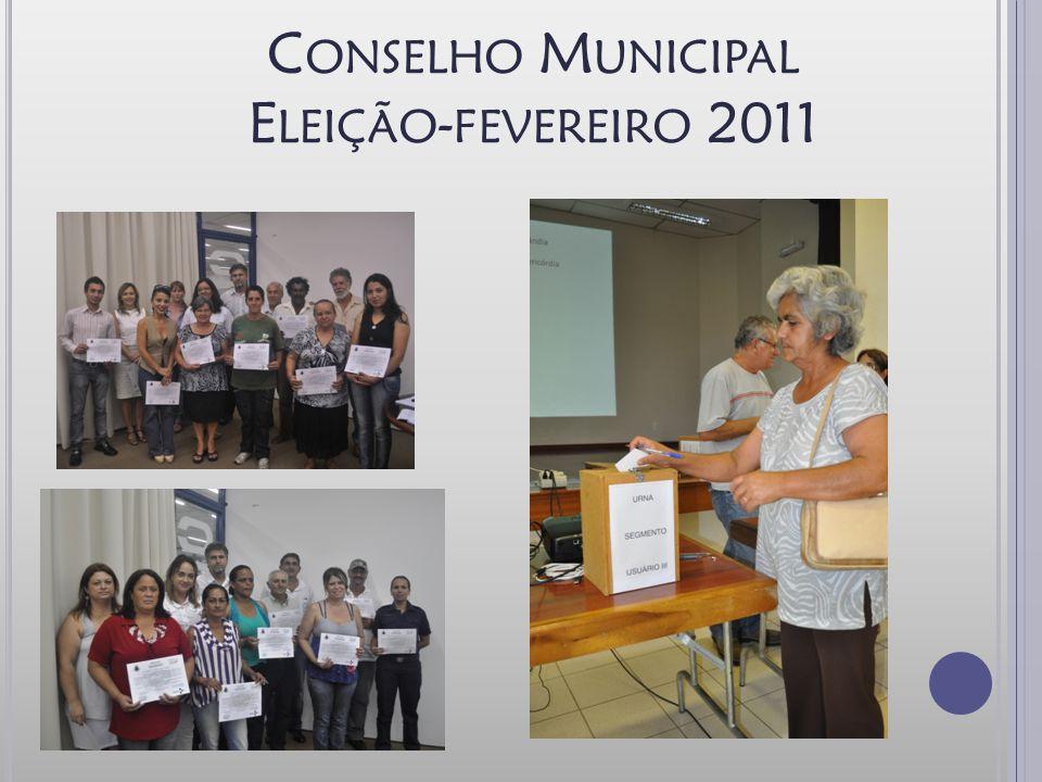 Conselho Municipal Eleição-fevereiro 2011