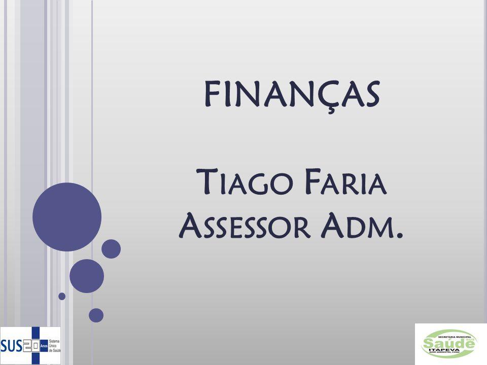 Tiago Faria Assessor Adm.