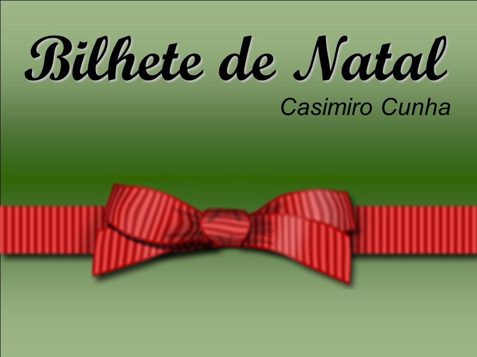 Bilhete de Natal Casimiro Cunha